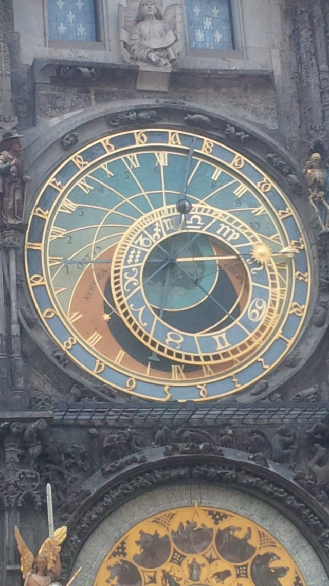 Prague, and its famed clock