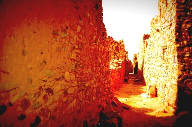 Oudane wall
