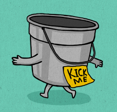kick-bucket